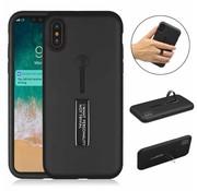 ShieldCase® Finger strap case  iPhone X / Xs silicone
