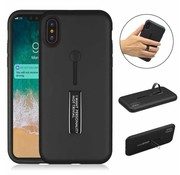 ShieldCase® Finger strap case  iPhone Xr silicone