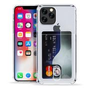 ShieldCase® iPhone 11 Pro Shock case met pashouder (met glass)