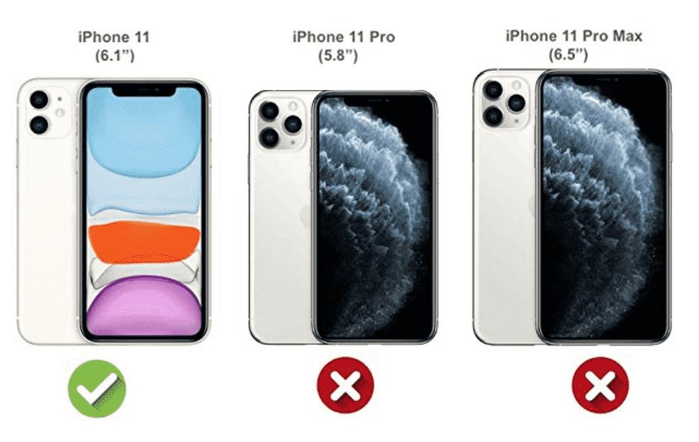 Marmeren patroon iPhone 11 hoesje (roze)