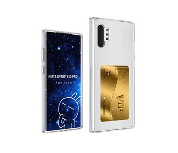 ShieldCase® Samsung Galaxy Note 10 Plus Shock case met pashouder