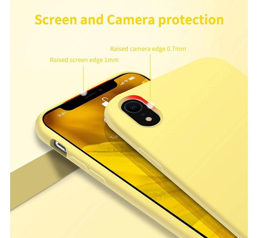 ShieldCase Silicone case iPhone Xr (geel)