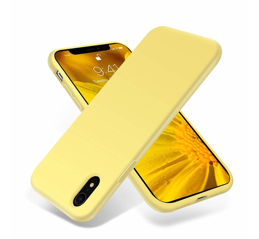 ShieldCase Silicone case iPhone Xr (geel)