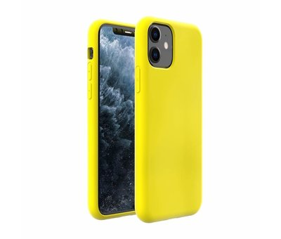 ShieldCase ShieldCase Silicone case iPhone 11 (geel)