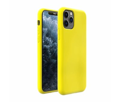ShieldCase ShieldCase Silicone case iPhone 11 Pro Max (geel)