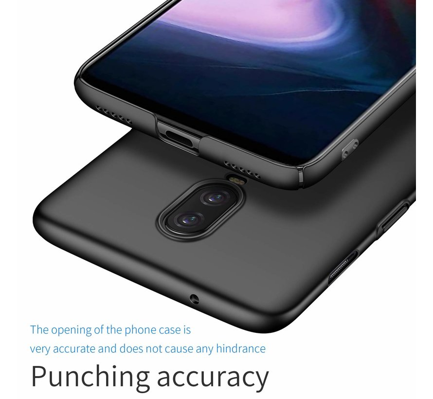 ShieldCase Ultra thin  case OnePlus 6T (zwart)