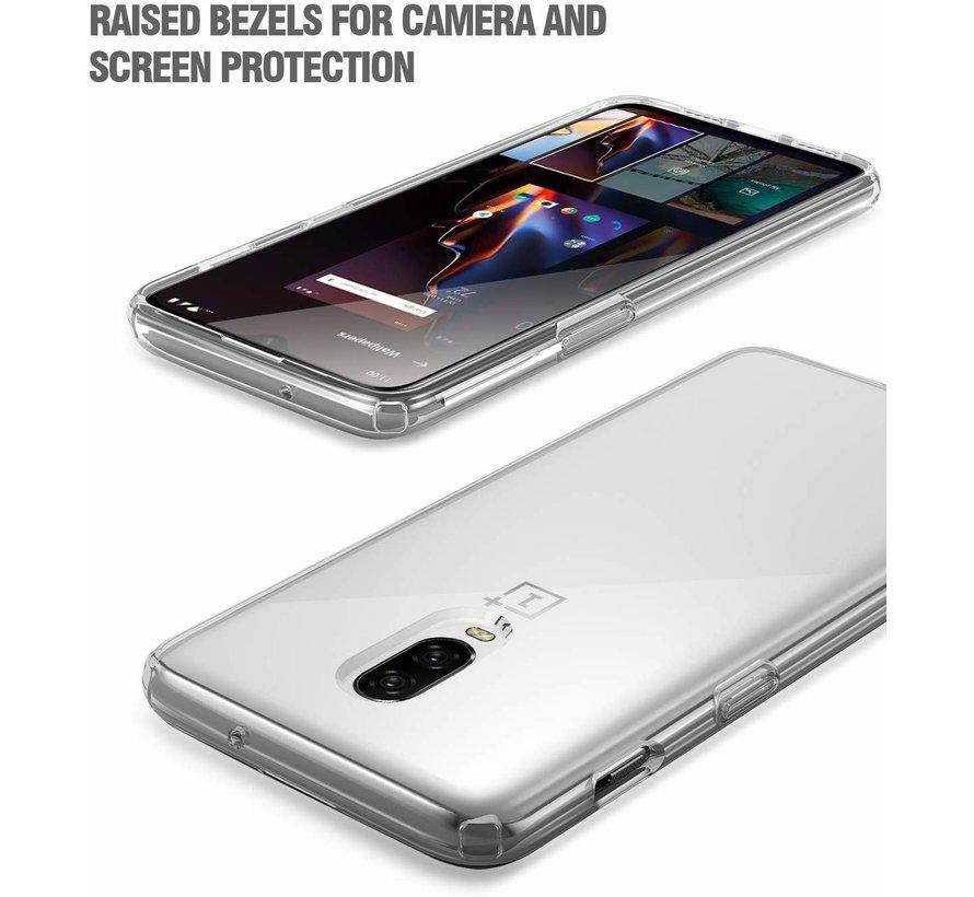 ShieldCase Ultra thin silicone case OnePlus 6T (transparant)