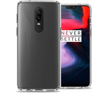 ShieldCase Ultra thin silicone case OnePlus 6 (transparant)