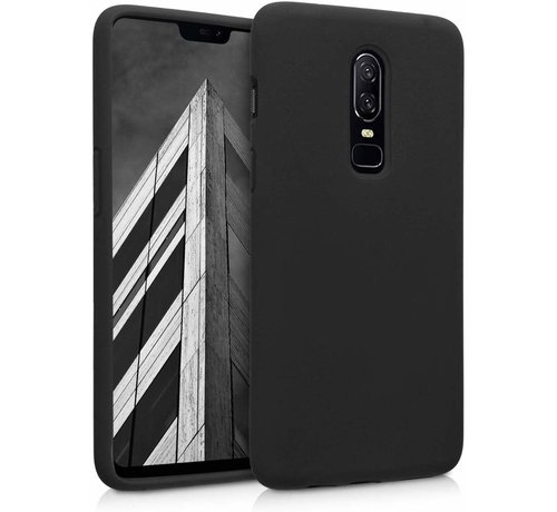 ShieldCase Shieldcase Silicone case OnePlus 6T (zwart)