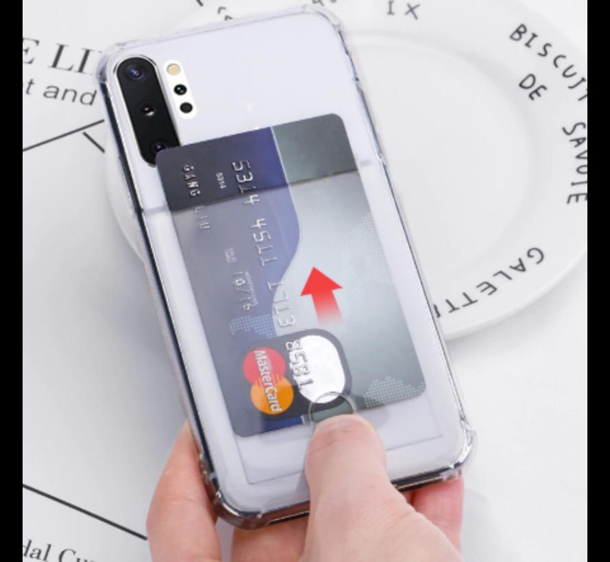 Samsung Galaxy A50 Shock case met pashouder