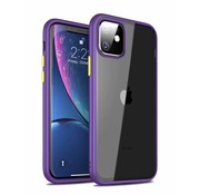 ShieldCase Smalle bumper case iPhone 11 (paars)