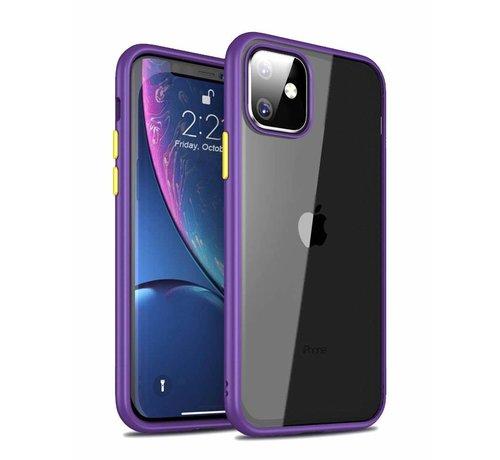 ShieldCase ShieldCase smalle bumper case iPhone 11 (paars)