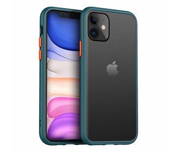 Smalle bumper case iPhone 11 (groen)