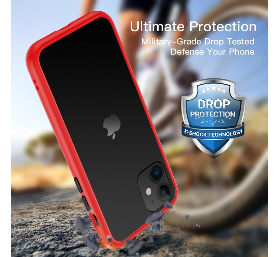ShieldCase smalle bumper case iPhone 11 (rood)