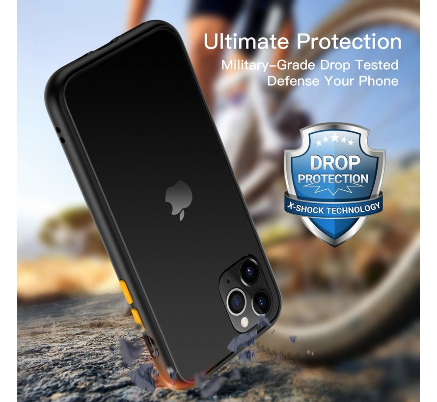 ShieldCase smalle bumper case iPhone 11 Pro (zwart)
