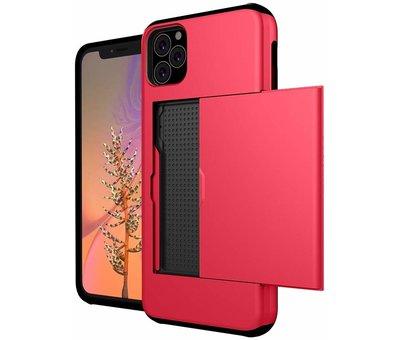 ShieldCase® Shieldcase Case slide iPhone 11 Pro Max (rood)