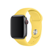Apple Watch sport band (geel)