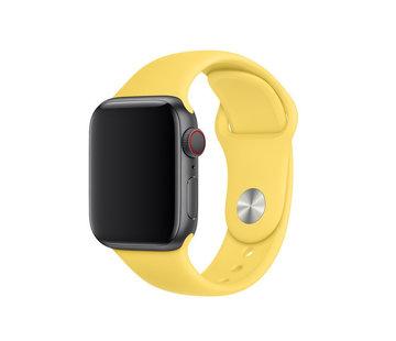 Apple Watch sport band (geel)
