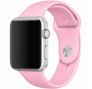 Apple Watch sport band (licht roze)