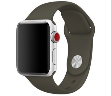 Apple Watch sport band (donkergroen)