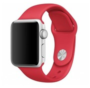 Apple Watch sport band (rood)