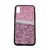 ShieldCase® Kaarthouder glitter roze case iPhone Xr