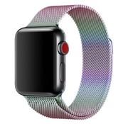 ShieldCase Apple Watch milanese band (regenboog)