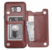 ShieldCase Wallet Case Samsung Galaxy S8 Plus (bruin)