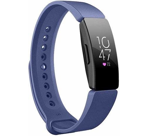 Fitbit Inspire  silicone band (blauw)