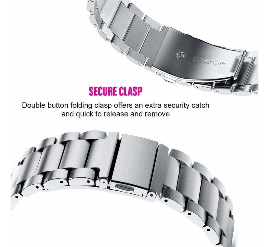 Fitbit Inspire stalen bandje (zilver)
