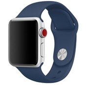 Apple Watch sport band (blauw)