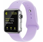 Apple Watch sport band (lila)