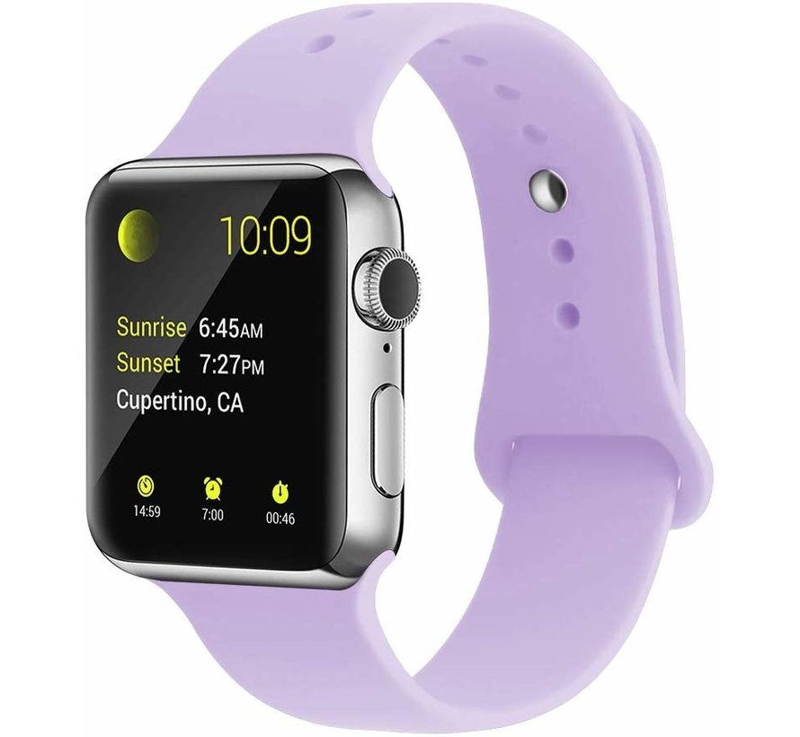 Apple Watch silicone sport band (lila)