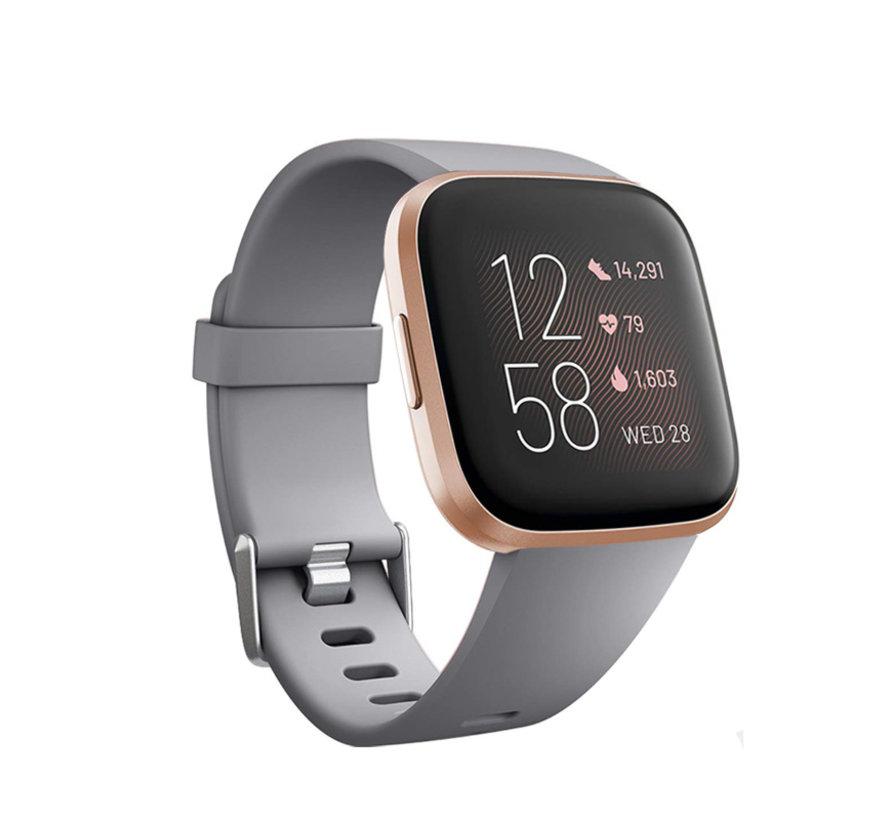 Fitbit Versa silicone band (grijs)