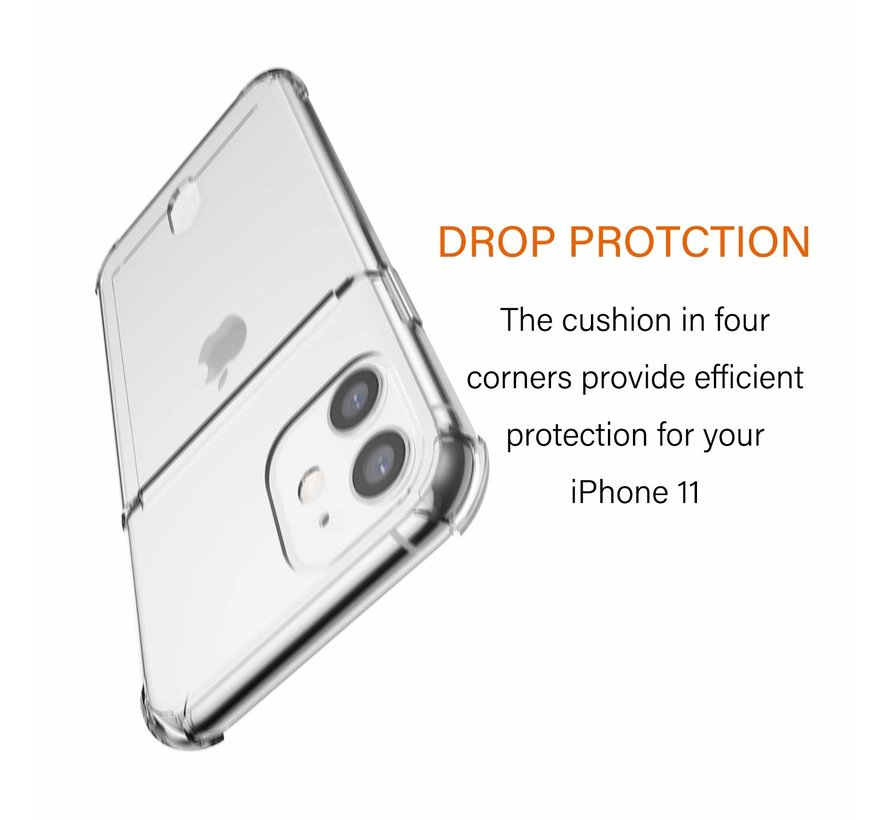 ShieldCase iPhone 11 Shock case met pashouder