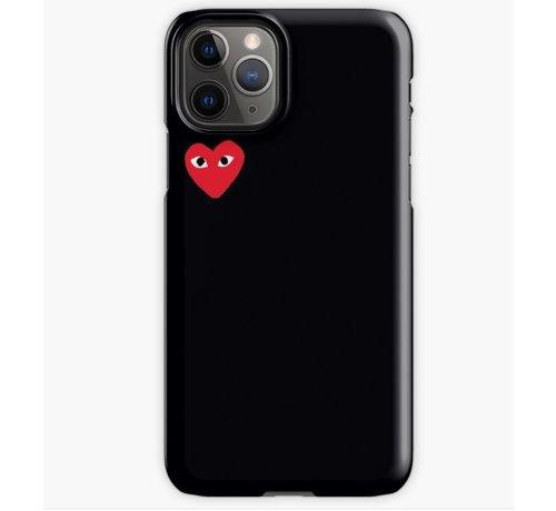 ShieldCase® ShieldCase Heart Eyes iPhone 11 Pro Max hoesje (zwart)