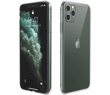 ShieldCase® Ultra thin silicone hoesje iPhone 11 Pro (transparant)