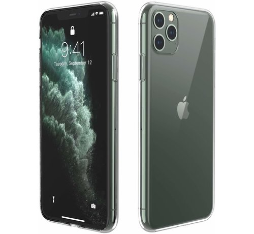 ShieldCase ShieldCase Ultra thin silicone hoesje iPhone 11 Pro (transparant)