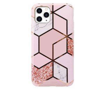 ShieldCase® Pink Pattern iPhone 11 Pro hoesje (roze)