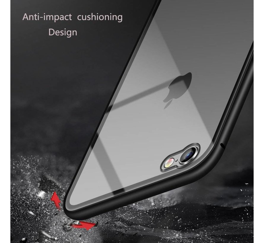 Shieldcase Magnetic Tempered Glass case iPhone 6(s) Plus