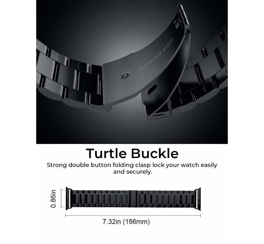 Apple Watch stalen band (zwart)