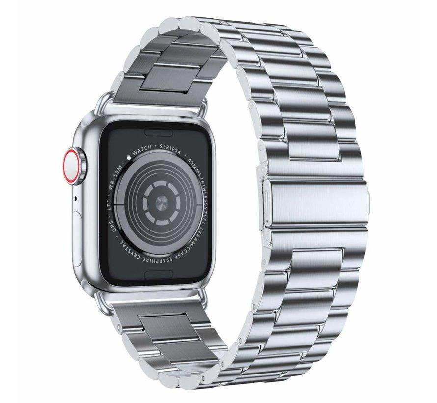Apple Watch stalen band (zilver)