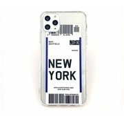ShieldCase® New York Ultra Thin Silicone iPhone 11 hoesje (transparant)