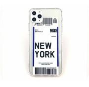 ShieldCase Ultra thin silicone new york case iPhone 11 (transparant)