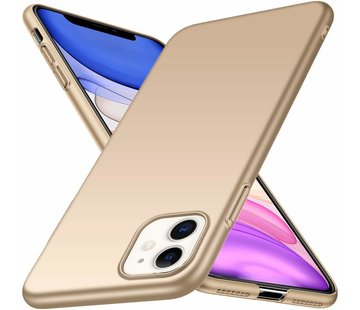 Ultra thin case iPhone 11 (goud)