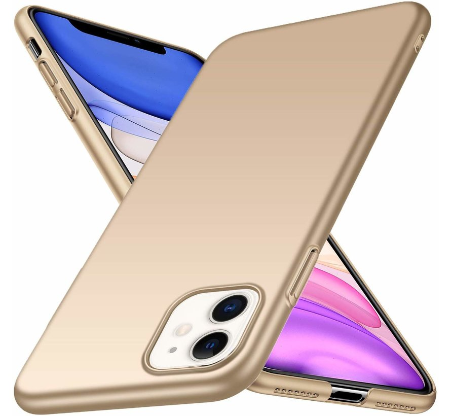 ShieldCase Ultra thin case iPhone 11  (goud)