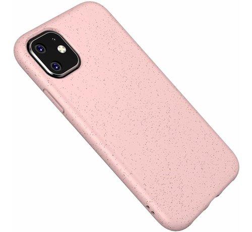 ShieldCase® ShieldCase Silicone case iPhone 11 eco-friendly (roze)