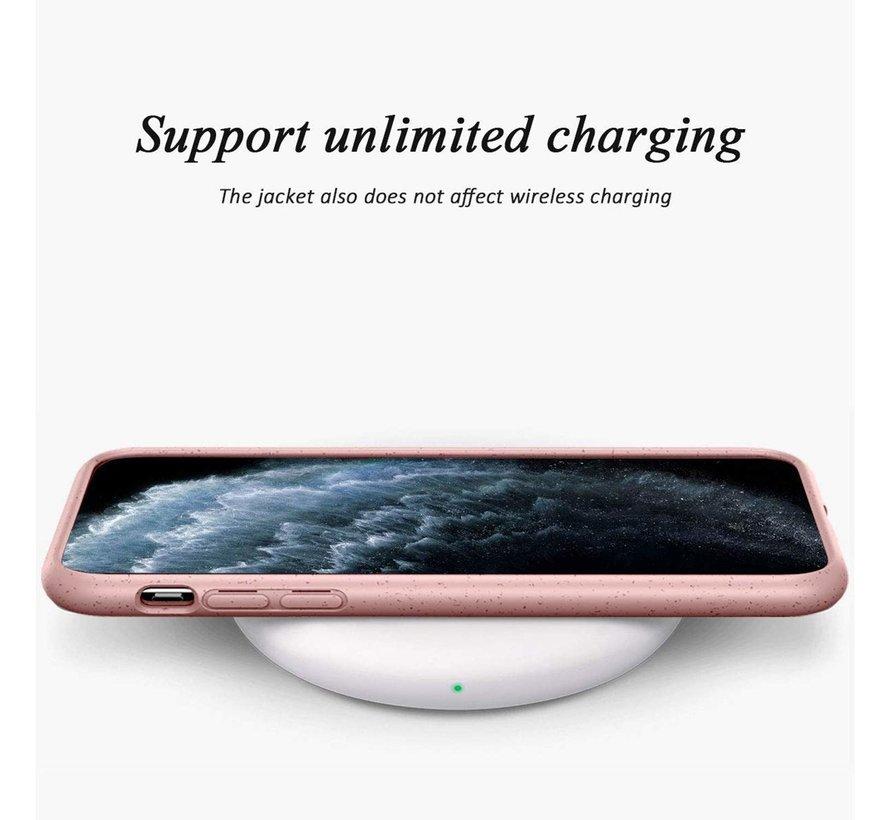 ShieldCase Silicone case iPhone 11 eco-friendly (roze)