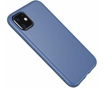 ShieldCase ShieldCase Silicone case iPhone 11 eco-friendly (blauw)