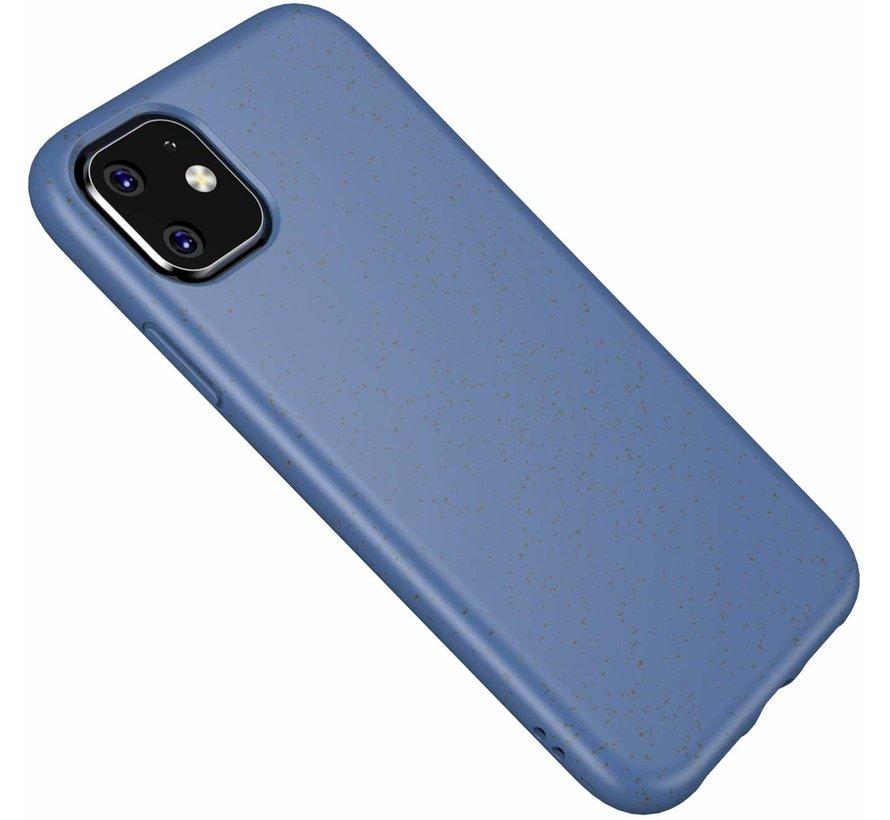ShieldCase Silicone case iPhone 11 eco-friendly (blauw)